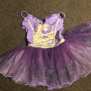 Disney Rapunzel Ballerina Tutu Toddler size 2